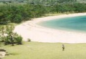 St Francois one of longest sandy beach in Rodrigues